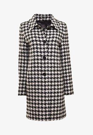 Classic coat - schwarz/weiss