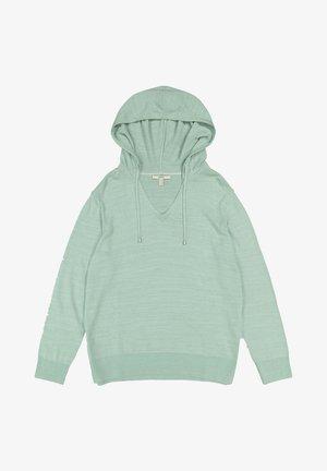 Hoodie - light aqua green