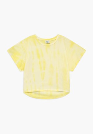 TOPININA - T-Shirt print - soft yellow