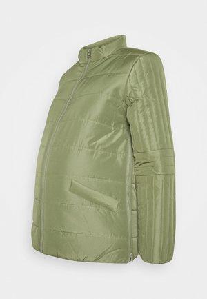 MLQUEENIE ZIPPY SIDE JACKET - Light jacket - olivine