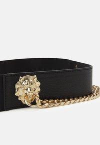 Pieces - PCXENIA WAIST BELT - Waist belt - black/gold-coloured - 2