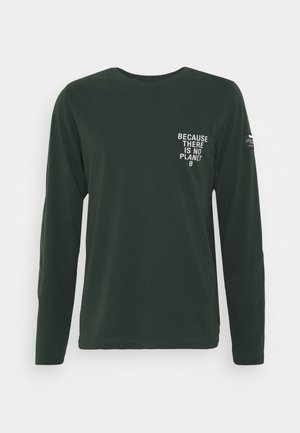 LONG SLEEVE MATEO MAN - Pitkähihainen paita - korean green