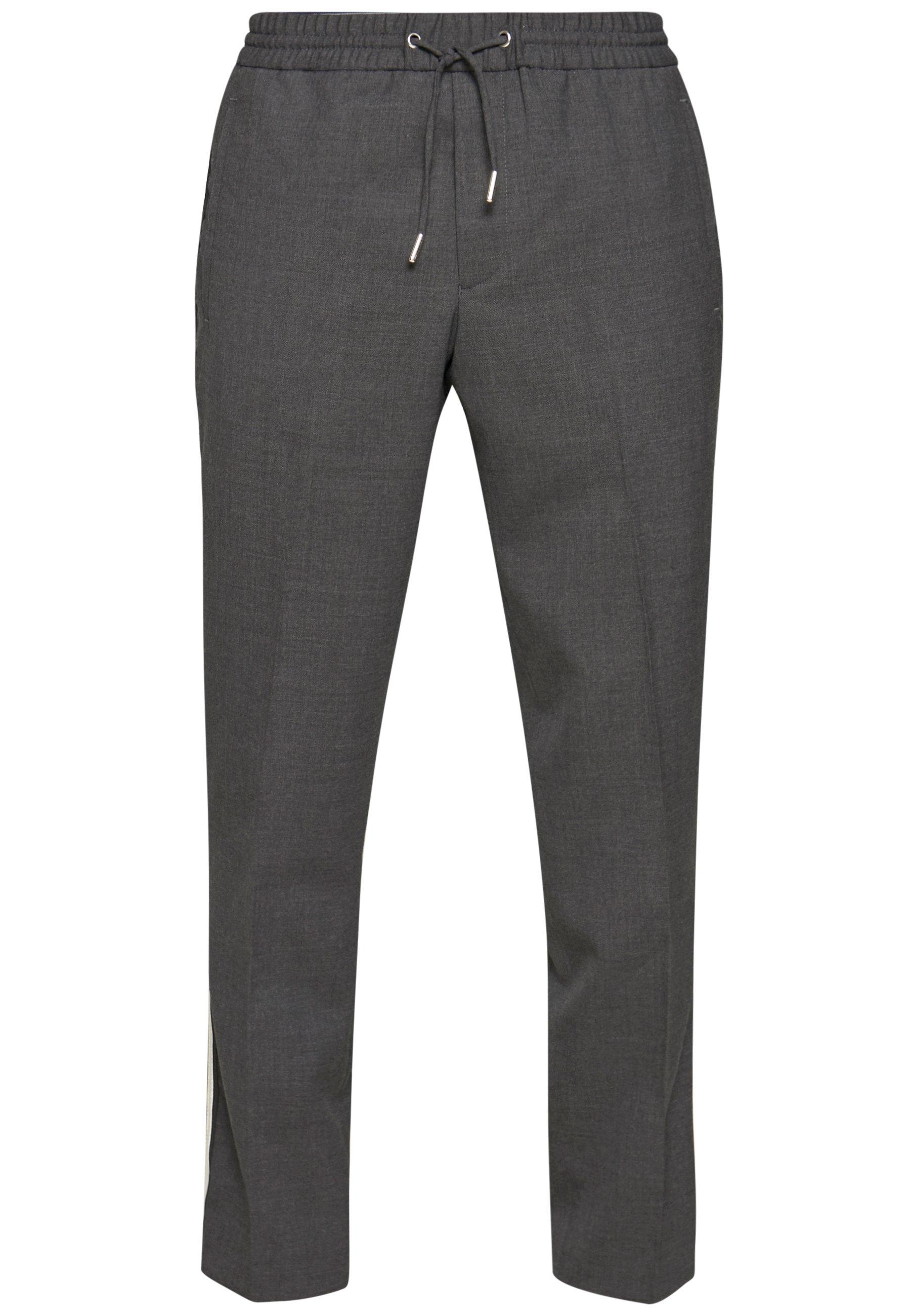 The Kooples SIDE STRIPE PANTALON COSTUM - Pantalon classique - grey