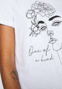 Even&Odd - T-shirts med print - white - 7