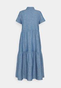 HUGO - ENNISH - Košilové šaty - medium blue - 8