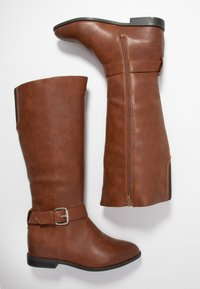 Call It Spring Wide Fit - THULA WIDE FIT - Bottines compensées - cognac - 3
