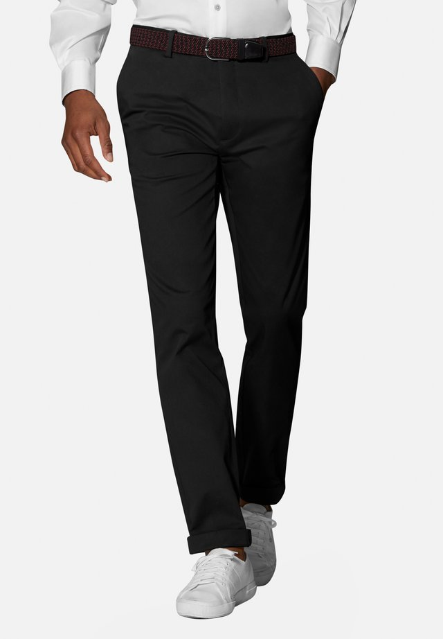 RADCLIFFE SLIM FIT - Chinos - black