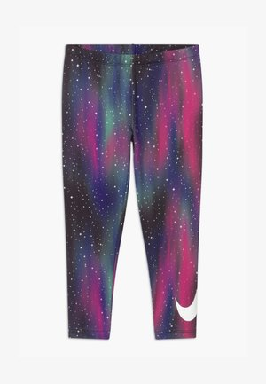 LIGHT UP THE SKY - Leggings - Trousers - black
