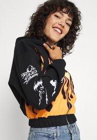 NEW girl ORDER - SPEED DEMON ZIP UP HOODIE - Zip-up sweatshirt - black - 3