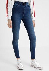 Dr.Denim Tall - MOXY HIGH WAIST - Jeans Skinny Fit - blue used - 0