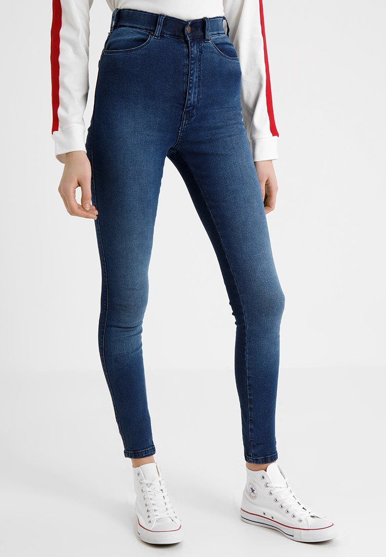 Dr.Denim Tall - MOXY HIGH WAIST - Jeans Skinny Fit - blue used