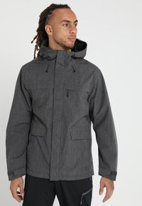 Vaude - ROSEMOOR JACKET - Waterproof jacket - iron - 0