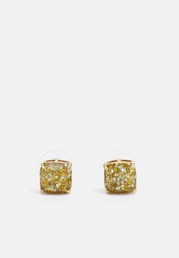 MINI SMALL SQUARE STUDS - Earrings - gold-coloured