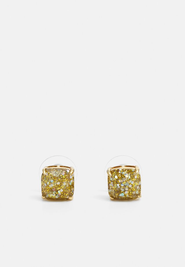 MINI SMALL SQUARE STUDS - Örhänge - gold-coloured