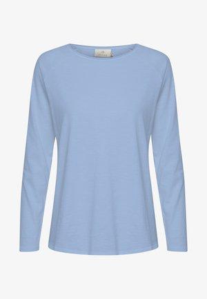KAVITTA - Long sleeved top - chambray blue
