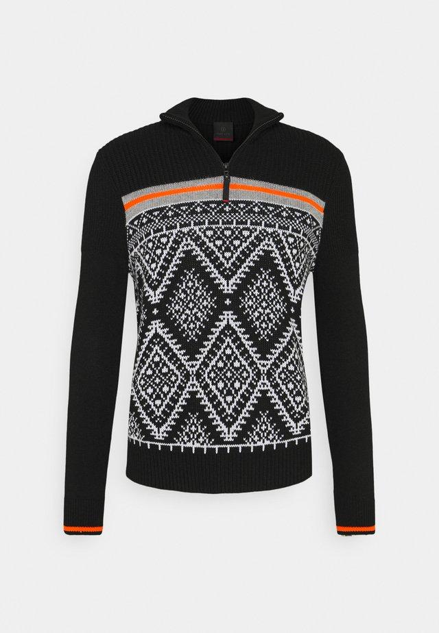 CAIO - Pullover - black