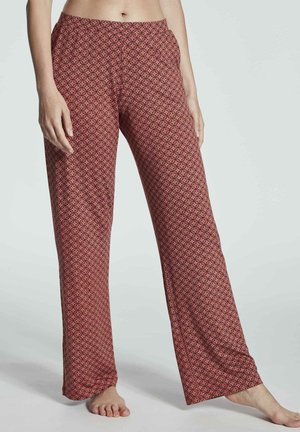 HOSE - Pyjama bottoms - brick