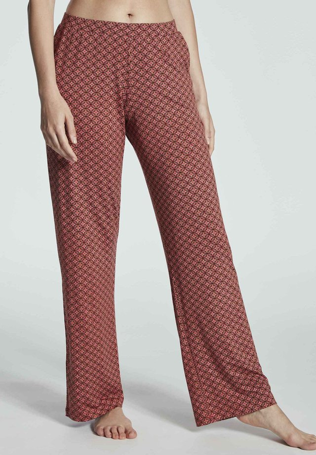 HOSE - Pyjama bottoms - brick