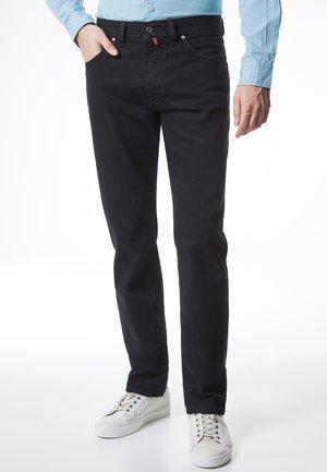 DEAUVILLE - Straight leg jeans - black