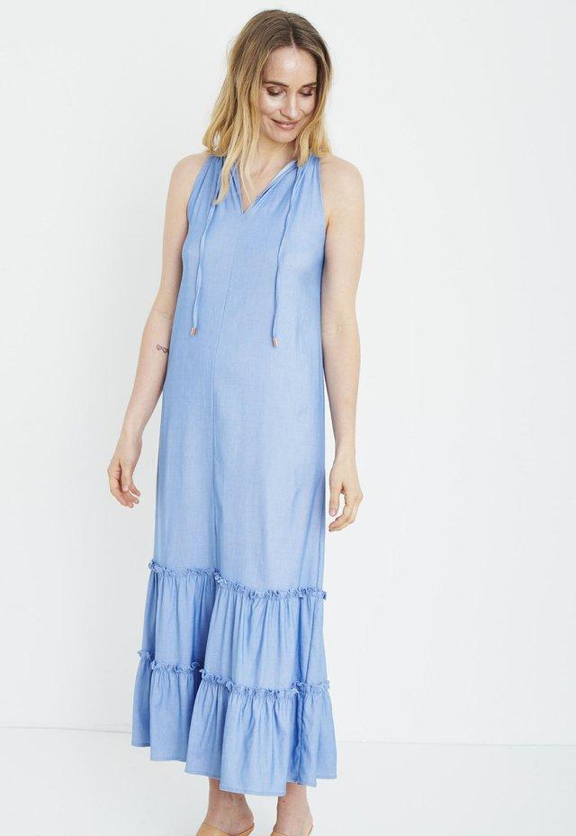 Maxi dress - light blue denim