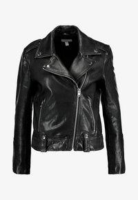 Topshop - MONA - Leather jacket - black - 4