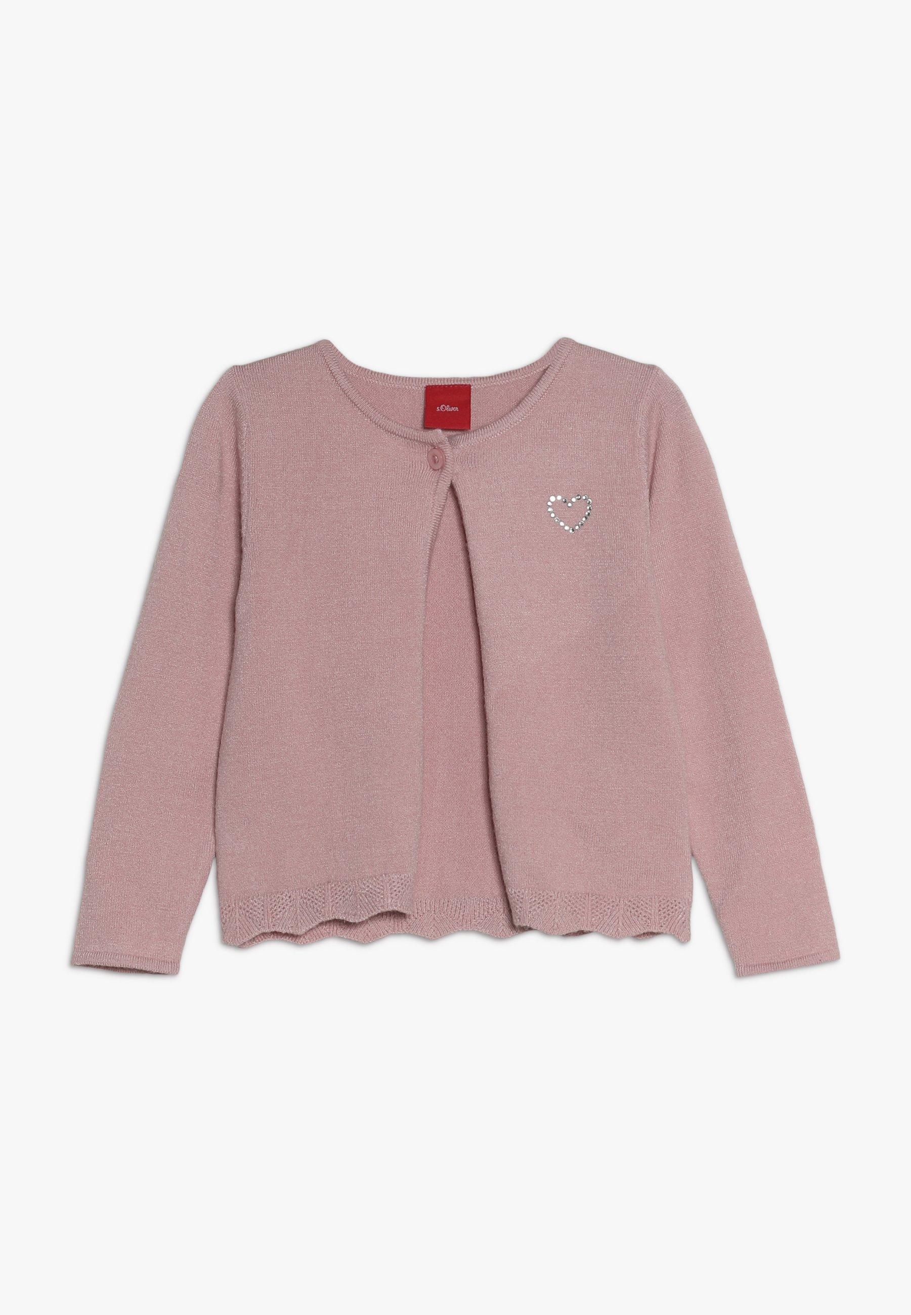 s.Oliver LANGARM Stickad tröja light pink Zalando.se