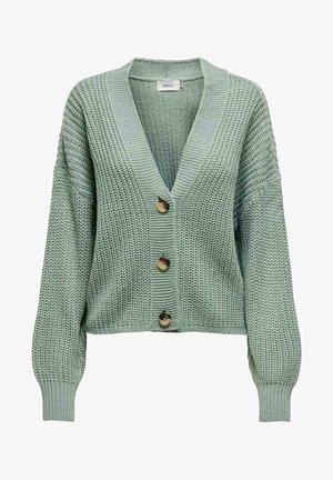 Cardigan - chinois green