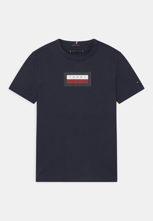 GRAPHIC - T-shirt imprimé - twilight navy