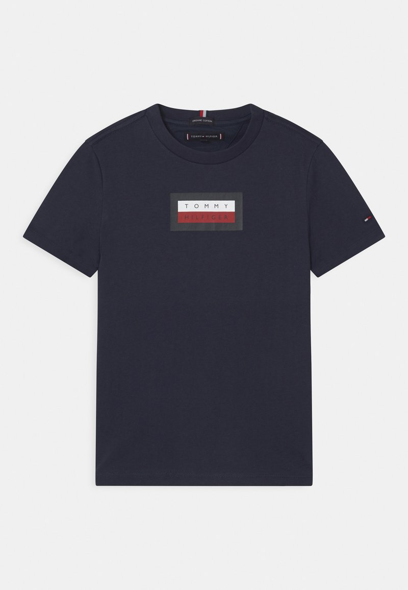 Tommy Hilfiger - GRAPHIC - T-shirt con stampa - twilight navy