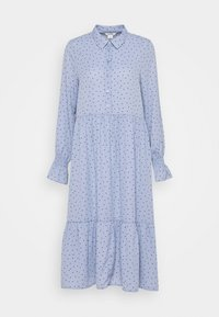 Monki - PARLY DRESS - Blusenkleid - blue - 4