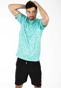Spyder - Print T-shirt - blue - 4
