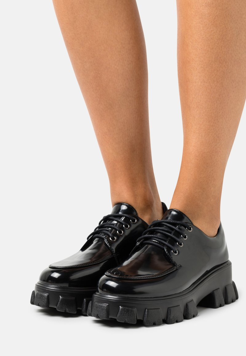Glamorous Wide Fit - Derbies - black box