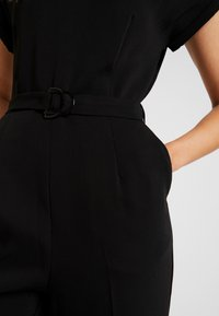 TOM TAILOR - WITH BELT - Tuta jumpsuit - deep black - 4