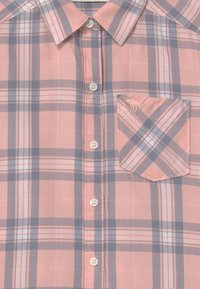Abercrombie & Fitch - Button-down blouse - pink plaid - 2