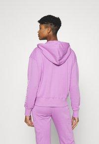 Nike Sportswear - Zip-up sweatshirt - violet shock/white - 2