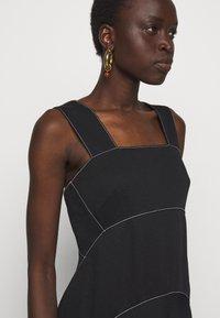 Proenza Schouler White Label - RUMPLED DRESS - Robe d'été - black - 5