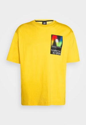 Camiseta estampada - atomic yellow