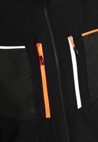 CMP - MAN JACKET ZIP HOOD - Ski jacket - nero - 7