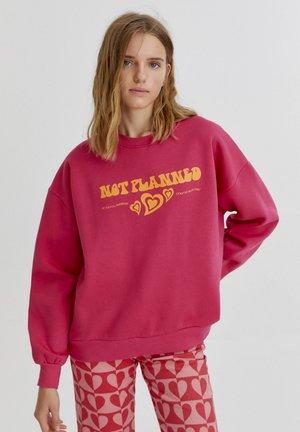 Sweater - mottled pink
