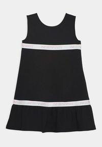 Emporio Armani - Jersey dress - black - 0