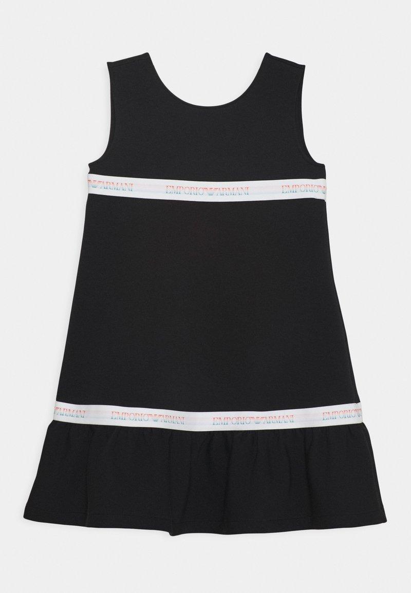 Emporio Armani - Jersey dress - black