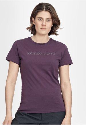 SEILE - T-Shirt print - blackberry