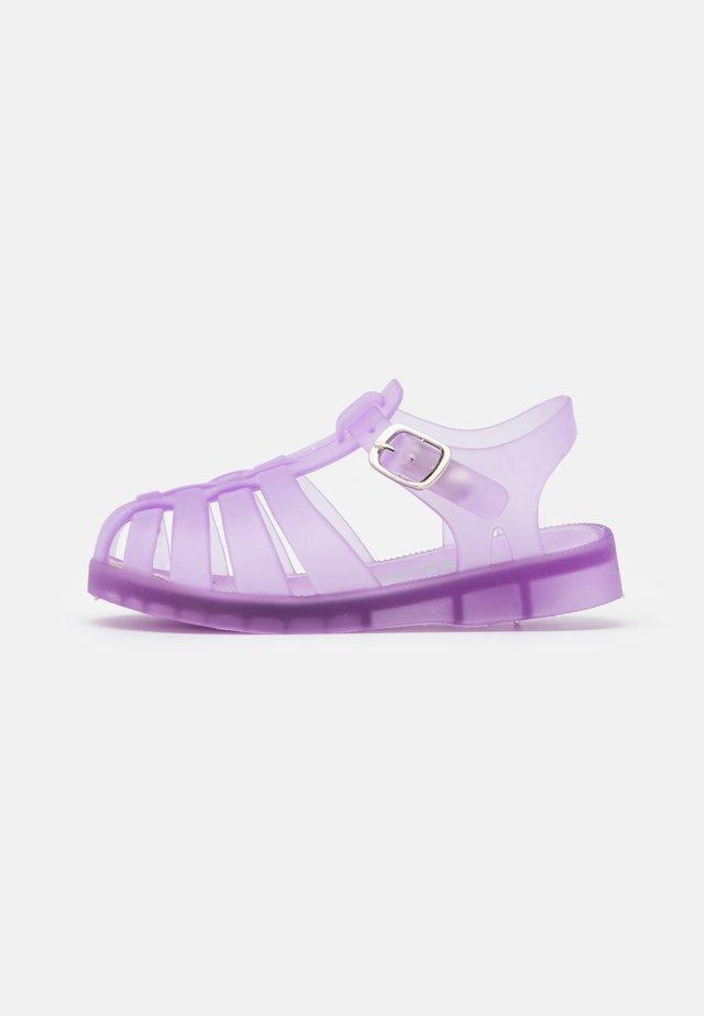 AMALFI FROSTED JELLY UNISEX - Sandály do bazénu - pale violet