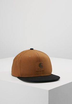 LOGO BICOLORED - Gorra - hamilton brown/black