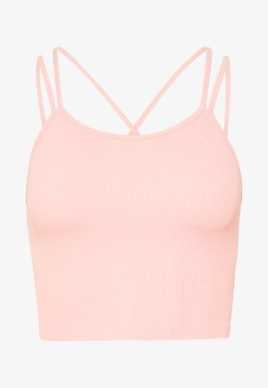 SEAMFREE STRAPPY VESTLETTE - Top - soft cameo pink marle
