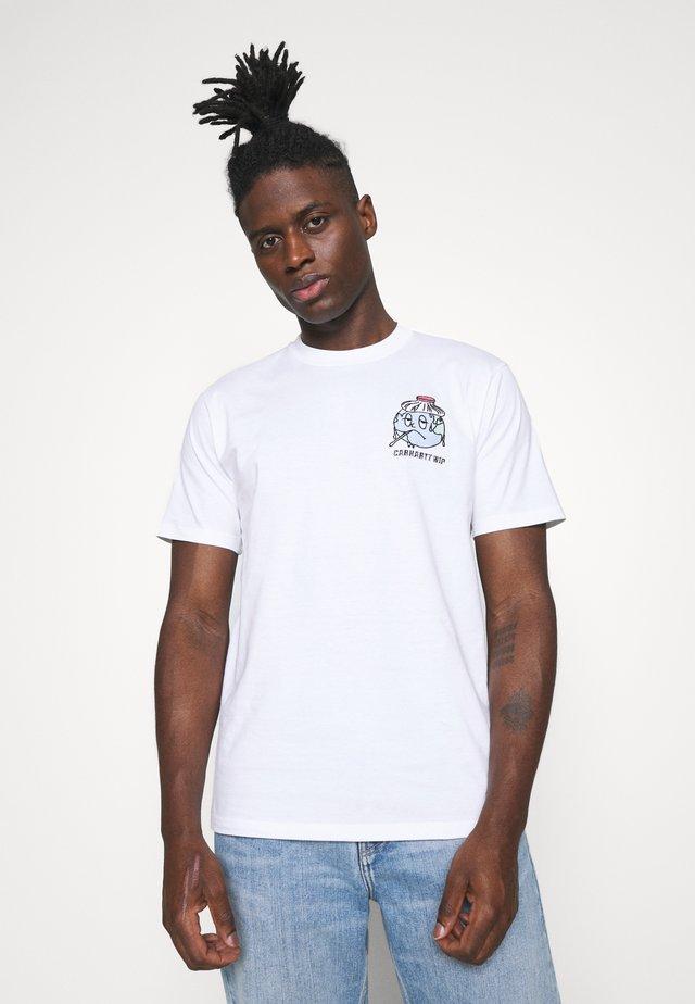 ILL WORLD - Print T-shirt - white
