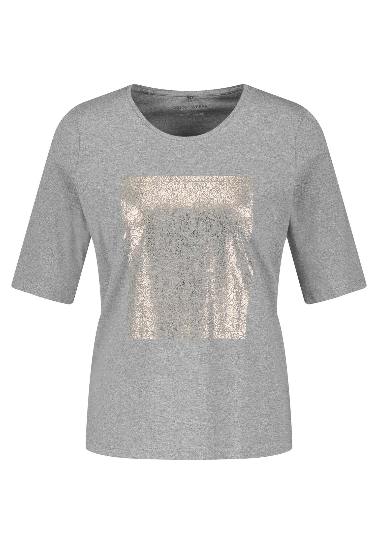 Mujer MIT FRONTPRINT GOTS - Camiseta estampada