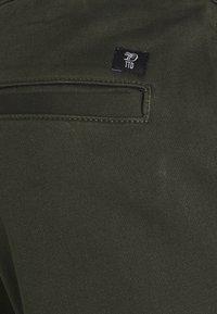 TOM TAILOR DENIM - SLIM WASHED - Slim fit jeans - woodland green - 2
