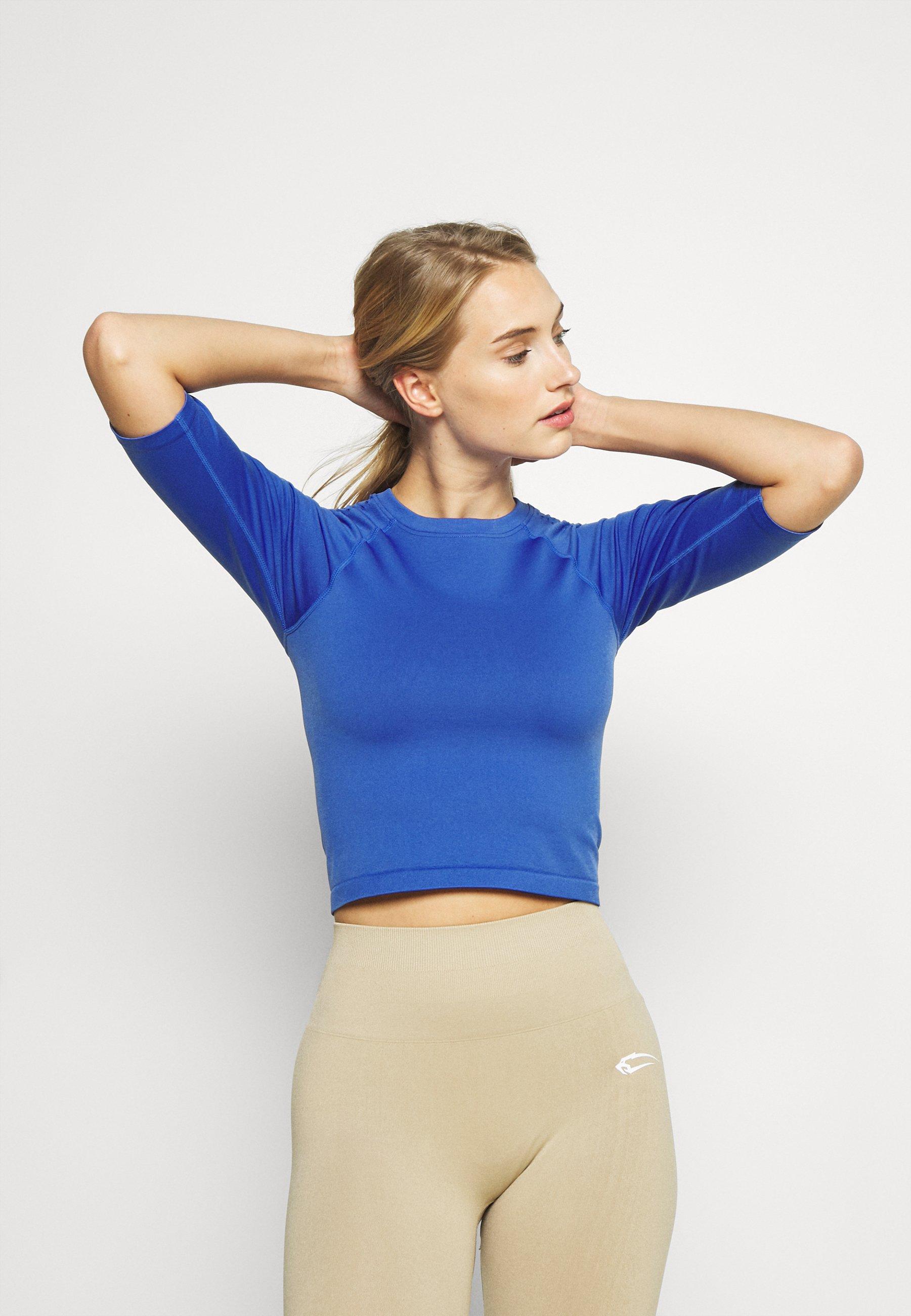 Women SEAMLESS ELBOW SLEEVE - Print T-shirt