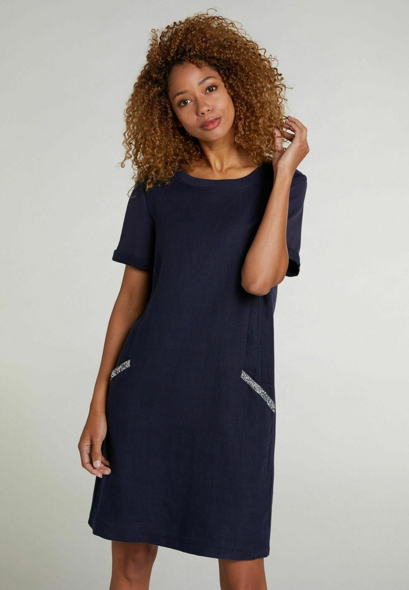 Oui - Jersey dress - nightsky